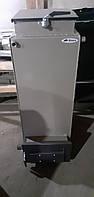 Твердотопливный котел Bizon FS-12 Optima, 12 кВт, длительного горения, шахтного типа (Холмова), верх. загрузка