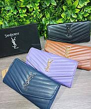 Жіночий гаманець Yves Saint Laurent Сен Лоран YSL Копія Lux