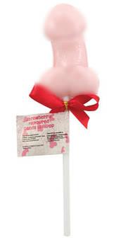 Съедобная сладкая конфетаWillie Lollipop от Spencer Fleetwood