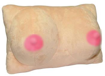 Плюшевая подушка Breasts от Orion