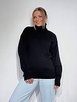 Шикарный вязанный обьемный свитер