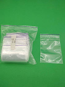 Пакет з замком Zip-lock 7х10(100шт) (1 пач.)