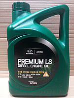 Масло моторное Hyundai Kia Premium LS 5W-30 дизель 4 л. (05200-00411), фото 1