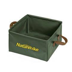 Відро складне квадратне 13л для кемпінгу, портативна раковина, Naturehike