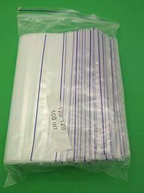 Пакет с замком Zip-lock 12х12(100шт) (1 пач)