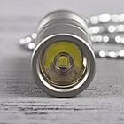 Фонарь Wuben G337  (Cree XP-G2, 130 люмен, 2 режима, USB) с цепочкой, титановый сплав, фото 4