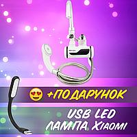 WATER HEATER Мини бойлер+Душ с боковым подключением Delimano MP 5208+ USB лампа