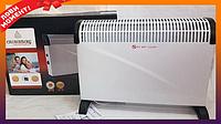 Обогреватель экономический, электрический конвектор Crownberg CB-2001 тепло конвекторы для дома