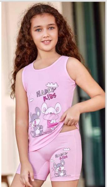 Комплект для сну дитячий 5537 футболка+шорти Berrak
