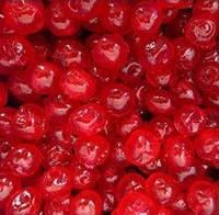 Джамбо черешня червона зацукрована без кісточки, без плодоніжки, Master Martini, Італія. Ведро 5кг