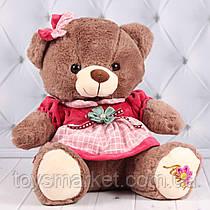 Мягкая игрушка медведь, плюшевый мишка, 40 см.