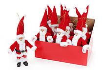 🔥 Распродажа! Новогодняя декоративная фигурка 17.5см подвеска Санта