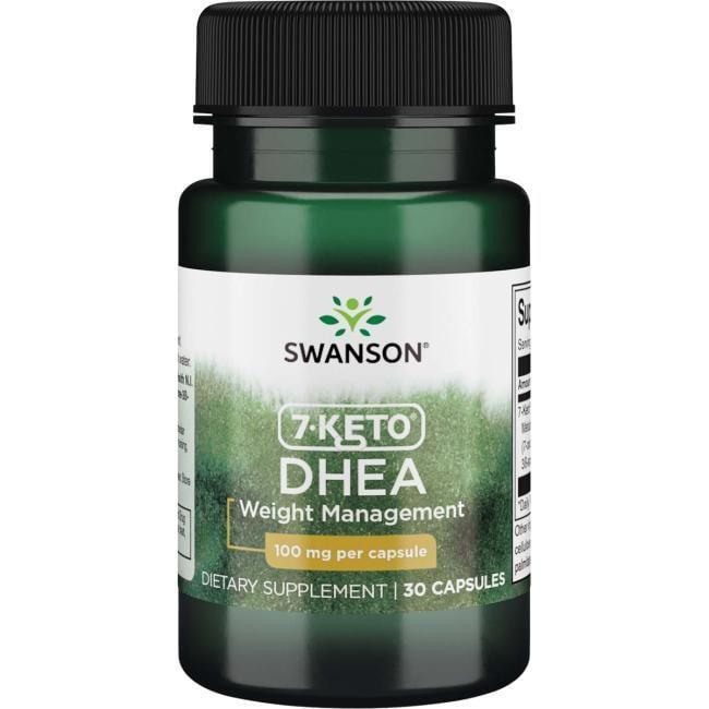 7-Keto 100 мг Swanson 30 капсул
