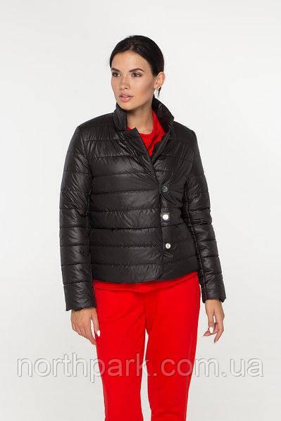 Демісезонна коротка куртка-жакет Dives M-47, чорна