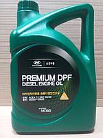 Масло моторное Hyundai Kia Premium DPF 5W-30 дизель 6 л. (05200-00620), фото 1