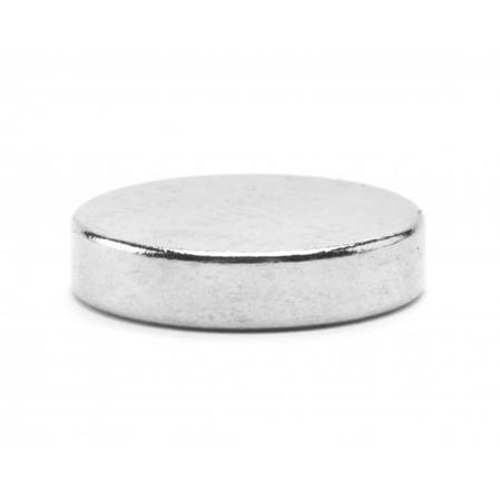 Неодимовый магнит D10 х h2 мм, диск (сила ~ 1.2 кг)