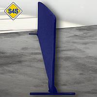 Бортик для настільного тенісу, огорожа майданчика 2 м завдовжки, кольори в ассорт. Синій