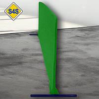 Бортик для настільного тенісу, огорожа майданчика 2 м завдовжки, кольори в ассорт. Зелений