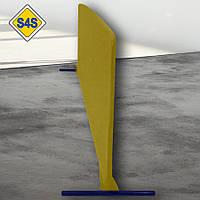 Бортик для настільного тенісу, огорожа майданчика 2 м завдовжки, кольори в ассорт. Жовтий