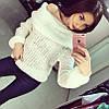 Шерстяной свитер с хомутом, фото 2