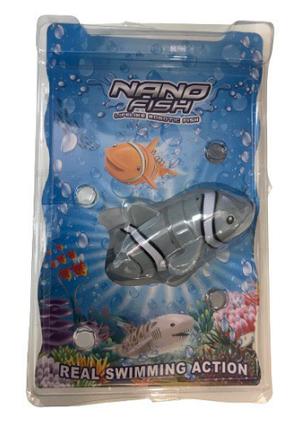 Интерактивная робо-рыбка с аквариумом NANO FISH ABC, фото 2