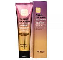 Несмываемая маска для волос Farm Stay Shining Silk Repair Hair Treatment Ceramide 150мл