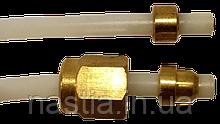 5513219871 Тефлонова трубка(скоба-гайка), d=2x4mm, L=460 mm, DeLonghi
