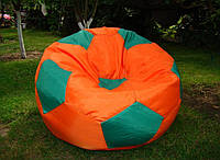 Кресло-мяч бескаркасное мягкое пуфик для сидения для дома, улицы диаметр 80 см Оксфорд
