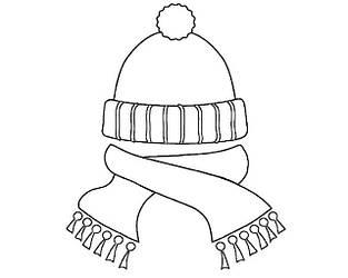 Комплект шапка+шарф для дівчинки