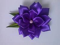 Декоративные цветы, цвет:фиолетовый