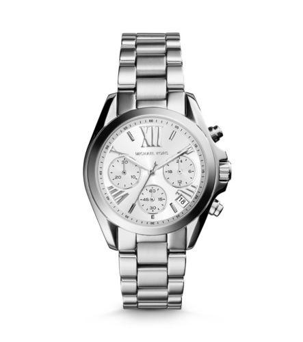 Часы Michael Kors Mini Bradshaw Silver-Tone MK6174