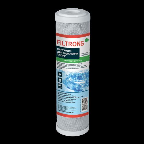 Вугільний картридж Filtrons Slim 10 дюймів