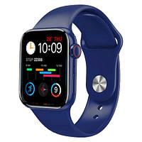 Умные часы Watch Series 6 M16 PLUS, 44mm Aluminium, голосовий виклик, IP67 blue