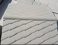 Бетонний Парапет для забору широкий (гладкий), фото 1