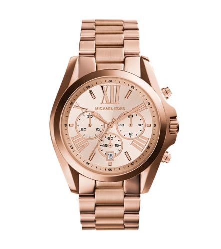 Часы Michael Kors Oversized Bradshaw Rose Gold MK5503