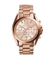 Часы Michael Kors Bradshaw Chronograph Rose Dial Rose Gold-tone MK5799
