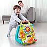 Детские ходунки-каталка 3 в 1 игровой центр с музыкальными эффектами 2107, фото 6