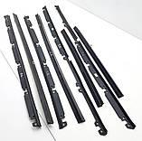 Ущільнювачі бічних стекол для Nissan Sunny B11 ущільнювальні гумки, фото 6