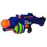 Іграшкова зброя автомат на присосках на батарейках 80531, фото 2