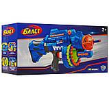 Іграшкова зброя автомат на присосках на батарейках 80531, фото 4