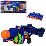 Іграшкова зброя автомат на присосках на батарейках 80531, фото 5