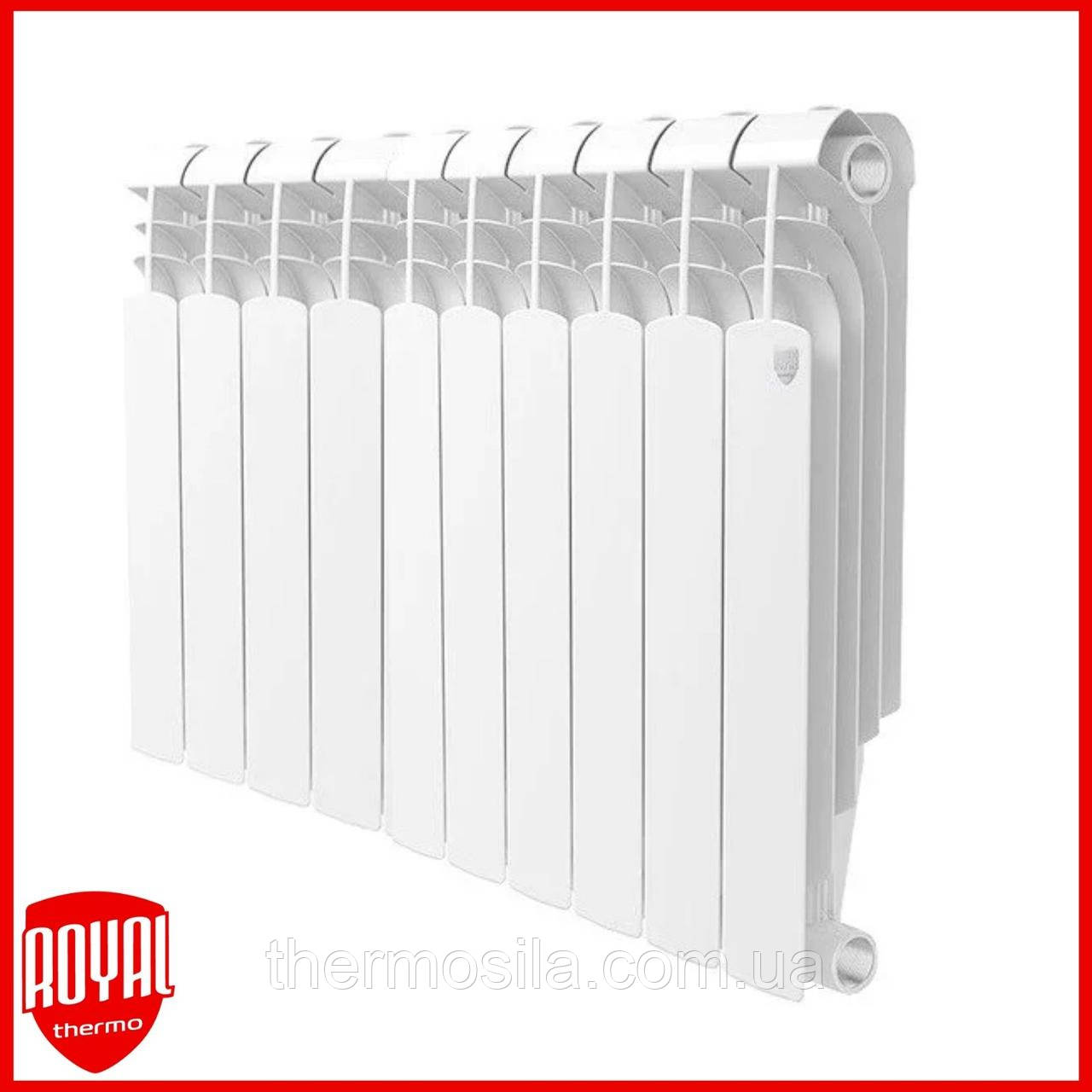 Радиатор биметаллический Royal Thermo Violento BM 500 - 10 секций