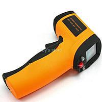 Термометр - пирометр цифровой инфракрасный GM-550, фото 1