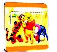 Наклейка на выключатель Винни и друзья 3D декор