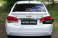 Спойлер крышки багажника Chevrolet Cruze 2008-2017 г.в. Шевролет Круз