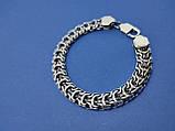 Срібний браслет Рамзес, 22см., 23 гр., фото 2