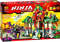"Конструктор Bela Ninja 9797 ""Битва за город"" (аналог Lego Ninjago), 1223 дет., фото 1"