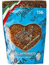 Кофе растворимый Nero Aroma 100% арабика 150г (без кофеина)