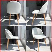 Мягкое кухонное кресло велюр кухонный стул на деревянных ножках в гостинную велюровий обеденный стул на кухню