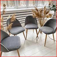 Мягкое кресло на кухню стул велюр в гостинную велюровий обеденный стул на кухню мягкое кухонное кресло